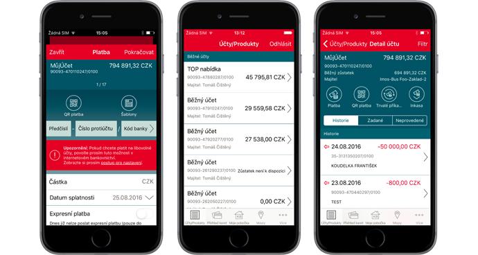Cleverlance Vyvinula Zcela Nove Mobilni Bankovnictvi Pro Komercni Banku